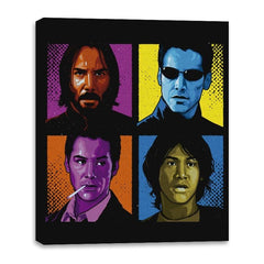 Pop Keanu - Canvas Wraps - Canvas Wraps - RIPT Apparel