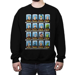 Rick-O-Rama - Crew Neck Sweatshirt - Crew Neck Sweatshirt - RIPT Apparel