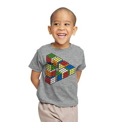 Magic Puzzle Cube Exclusive - Youth - T-Shirts - RIPT Apparel