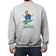 Marty McFry - Crew Neck Sweatshirt - Crew Neck Sweatshirt - RIPT Apparel