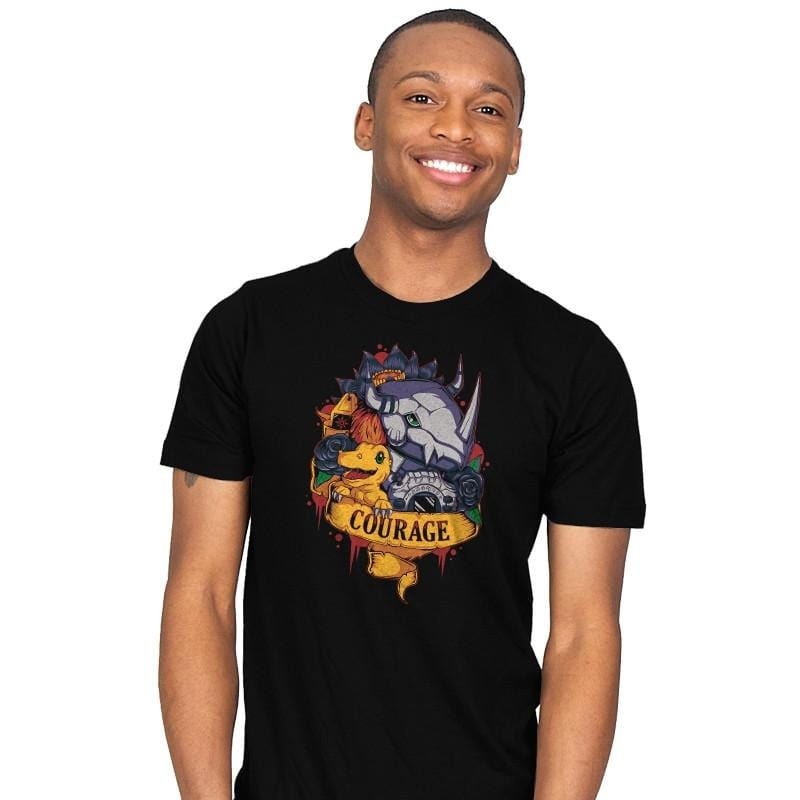 Digital courage - Mens - T-Shirts - RIPT Apparel