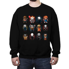 Horror Guys - Crew Neck Sweatshirt - Crew Neck Sweatshirt - RIPT Apparel