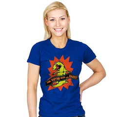 When Reptar Ruled The Babies - Womens - T-Shirts - RIPT Apparel