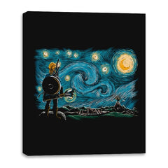 Starry Breath - Canvas Wraps - Canvas Wraps - RIPT Apparel