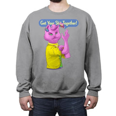 Aw Fish - Crew Neck Sweatshirt - Crew Neck Sweatshirt - RIPT Apparel