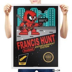 Francis Hunt - Prints - Posters - RIPT Apparel