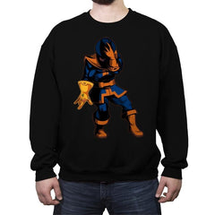 The King of Power - Crew Neck Sweatshirt - Crew Neck Sweatshirt - RIPT Apparel