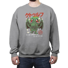 The Great Old Kawaii - Crew Neck Sweatshirt - Crew Neck Sweatshirt - RIPT Apparel