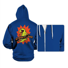 When Reptar Ruled The Babies - Hoodies - Hoodies - RIPT Apparel