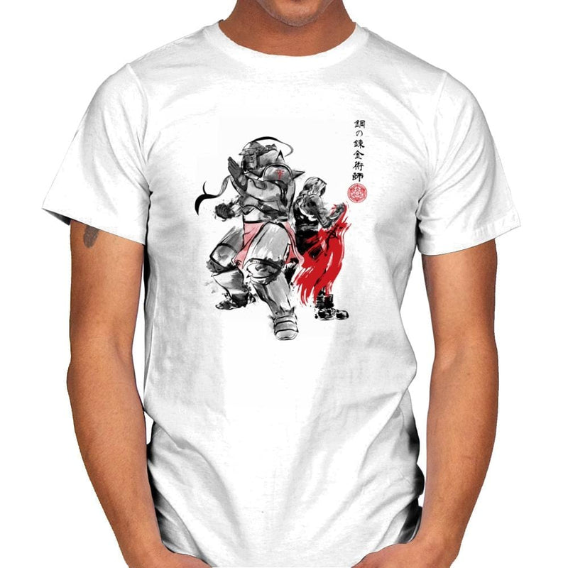 Brotherhood Sumi-E - Sumi Ink Wars - Mens - T-Shirts - RIPT Apparel