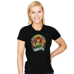 Our Lady of Sarcasm Reprint - Womens - T-Shirts - RIPT Apparel