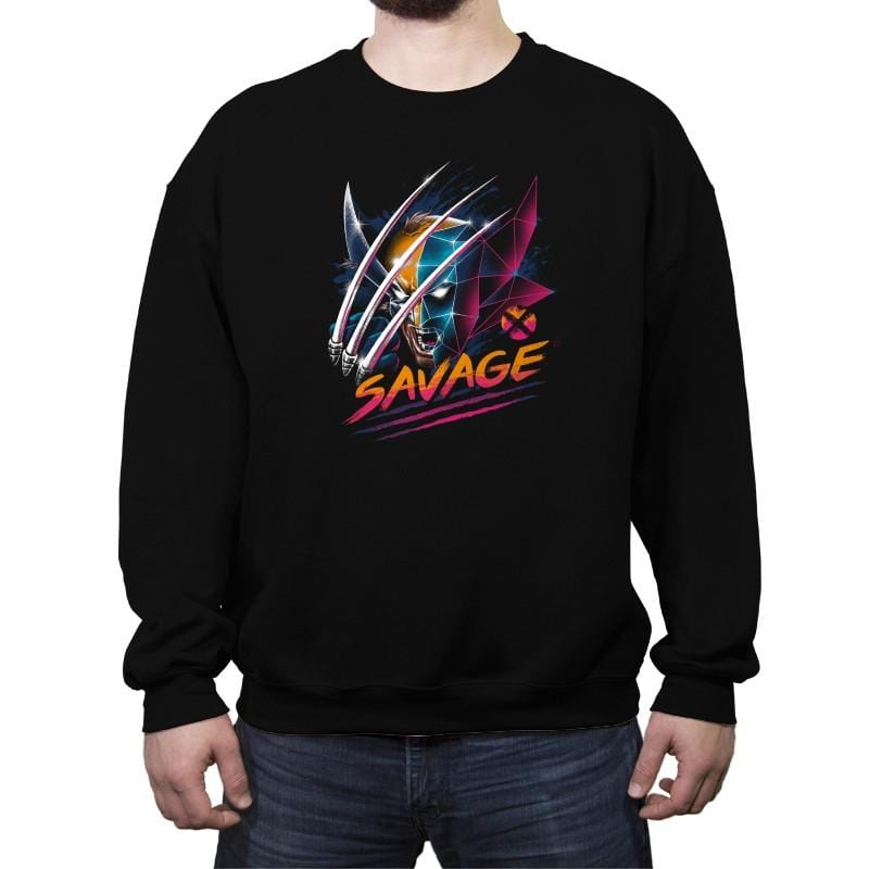 Savage - Crew Neck Sweatshirt - Crew Neck Sweatshirt - RIPT Apparel