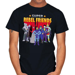 Super Rebel Friends - Mens - T-Shirts - RIPT Apparel