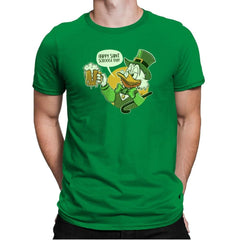 Happy Scrooge Day - St Paddys Day - Mens Premium - T-Shirts - RIPT Apparel