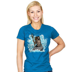 The Little Merman - Womens - T-Shirts - RIPT Apparel