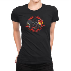 Dark Side  - Miniature Mayhem - Womens Premium - T-Shirts - RIPT Apparel