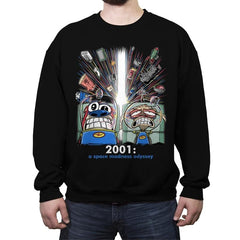 2001: A Space Madness Odyssey Exclusive - Crew Neck Sweatshirt - Crew Neck Sweatshirt - RIPT Apparel