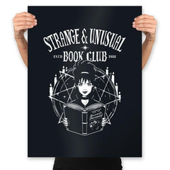Unusual Book Club - Prints - Posters - RIPT Apparel