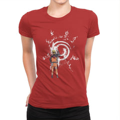 Graff Naruto - Womens Premium - T-Shirts - RIPT Apparel