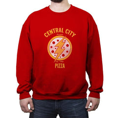 Central City Pizza - Crew Neck Sweatshirt - Crew Neck Sweatshirt - RIPT Apparel
