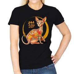 Yakuza Cat - Womens - T-Shirts - RIPT Apparel