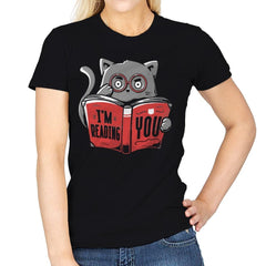 I'm Reading You - Womens - T-Shirts - RIPT Apparel