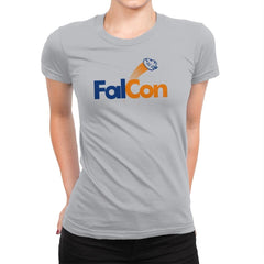 FalCon Exclusive - Womens Premium - T-Shirts - RIPT Apparel