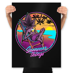 Summer Things - Prints - Posters - RIPT Apparel