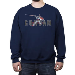 Air Mecha - Crew Neck Sweatshirt - Crew Neck Sweatshirt - RIPT Apparel
