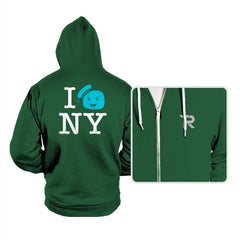 I Gozer New York Reprint - Hoodies - Hoodies - RIPT Apparel