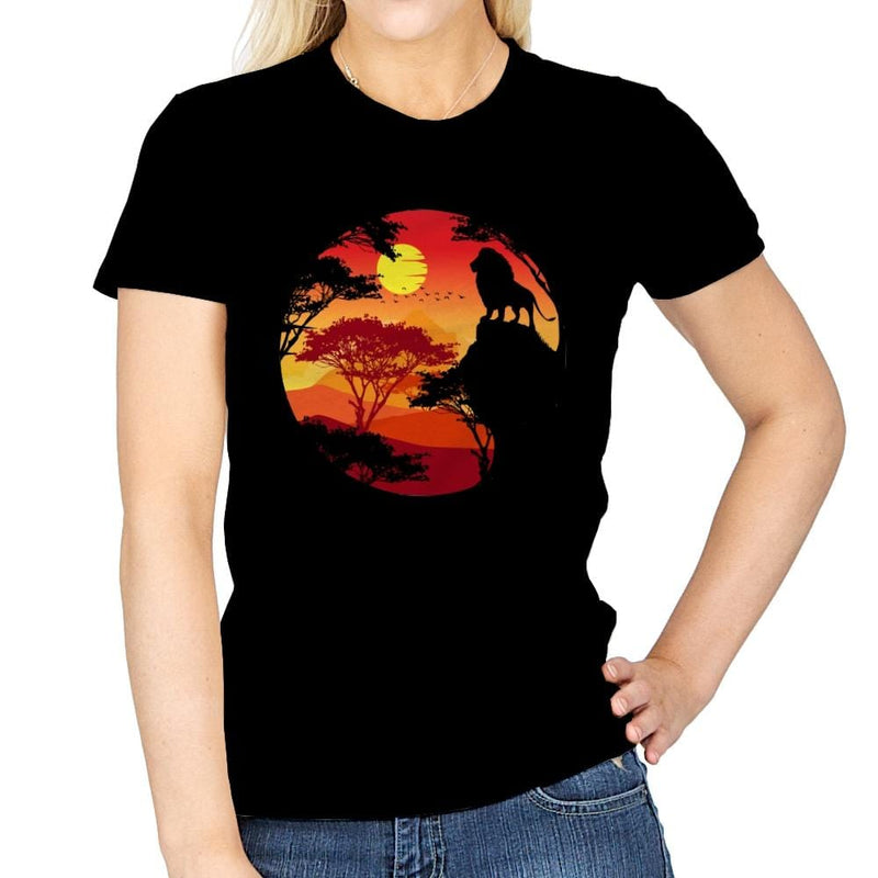King Lion - Womens - T-Shirts - RIPT Apparel