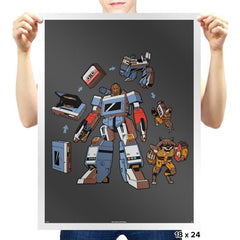 Soundlord Superior - Awesome Mixtees - Prints - Posters - RIPT Apparel