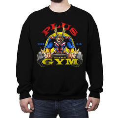 Plus Ultra Gym - Crew Neck Sweatshirt - Crew Neck Sweatshirt - RIPT Apparel