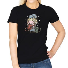 Mother Of Cats - Womens - T-Shirts - RIPT Apparel