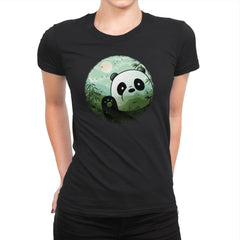 Hello Panda - Womens Premium - T-Shirts - RIPT Apparel
