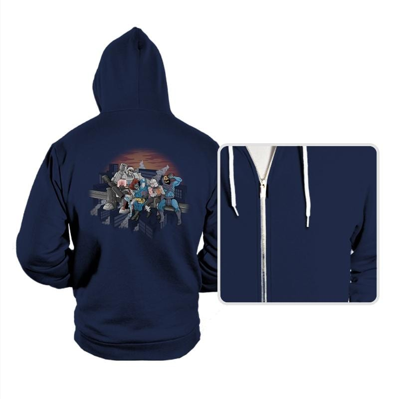 Villains Atop A Skyscraper - Hoodies - Hoodies - RIPT Apparel