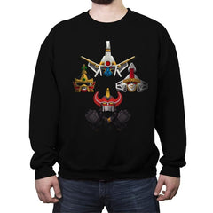 Zord Rhapsody - Crew Neck Sweatshirt - Crew Neck Sweatshirt - RIPT Apparel