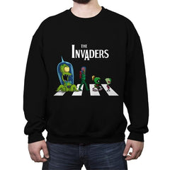 The Invaders - Crew Neck Sweatshirt - Crew Neck Sweatshirt - RIPT Apparel