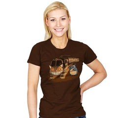 Back To the Nature - Pop Impressionism - Womens - T-Shirts - RIPT Apparel