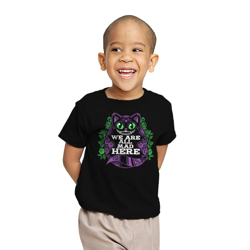 Calavera Cheshire Cat - Youth - T-Shirts - RIPT Apparel
