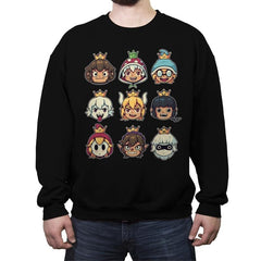 Evil Waifus - Crew Neck Sweatshirt - Crew Neck Sweatshirt - RIPT Apparel