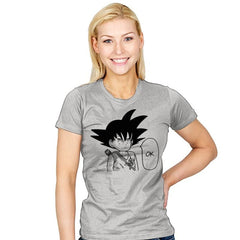 Ok - Sangoku - Womens - T-Shirts - RIPT Apparel