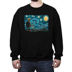 Starry Breath - Crew Neck Sweatshirt - Crew Neck Sweatshirt - RIPT Apparel