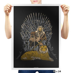 King & Tiger - Prints - Posters - RIPT Apparel