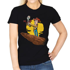 The Not a Toy King - Womens - T-Shirts - RIPT Apparel