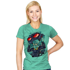Black Manta Identity - Womens - T-Shirts - RIPT Apparel