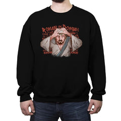 The Romani Joke - Crew Neck Sweatshirt - Crew Neck Sweatshirt - RIPT Apparel