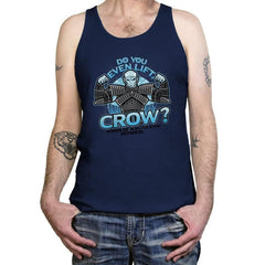 Do You Even Lift, Crow? Exclusive - Tanktop - Tanktop - RIPT Apparel