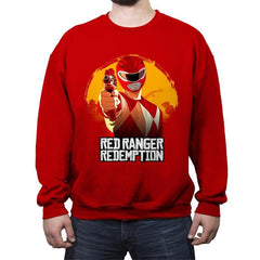 Red Redemption - Crew Neck Sweatshirt - Crew Neck Sweatshirt - RIPT Apparel