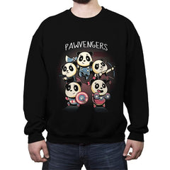 Pawvengers - Crew Neck Sweatshirt - Crew Neck Sweatshirt - RIPT Apparel